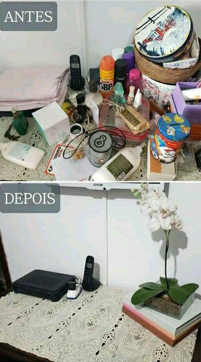 Tudo limpo e no lugar 💕