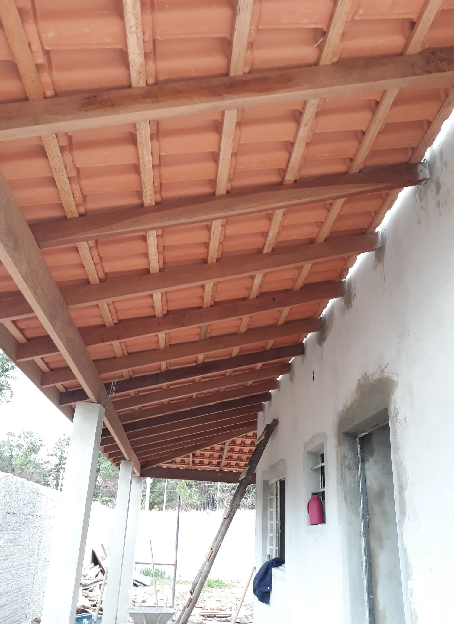 obra em Araçoiaba da Serra