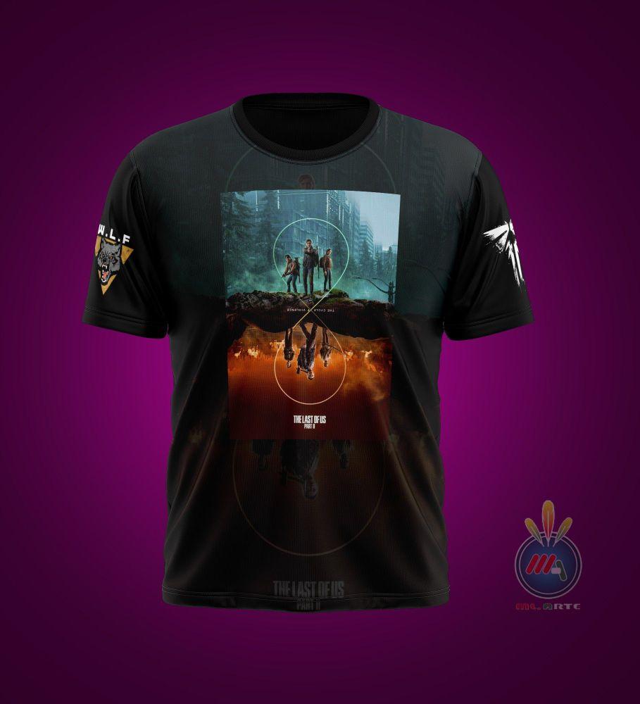 arte gráfica para camiseta (imagem ilustrativa)