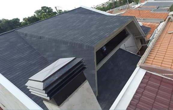telhado AMERICANO