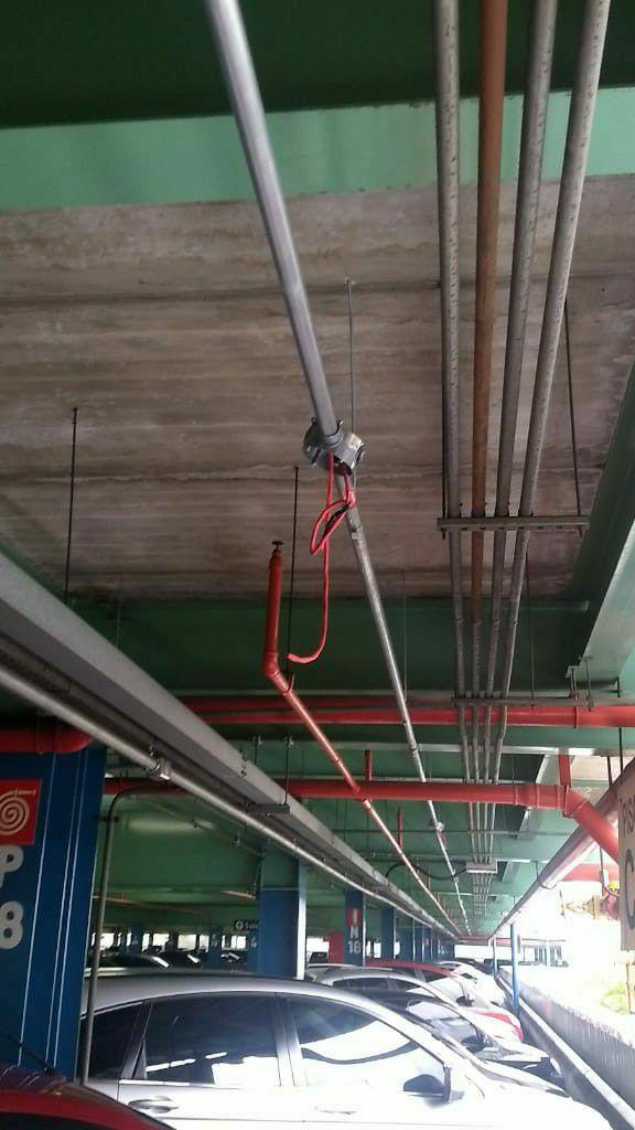 Instalação no Sistema de Incêndio