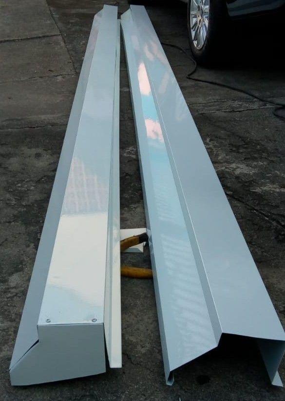 fabricação e instalação de calhas