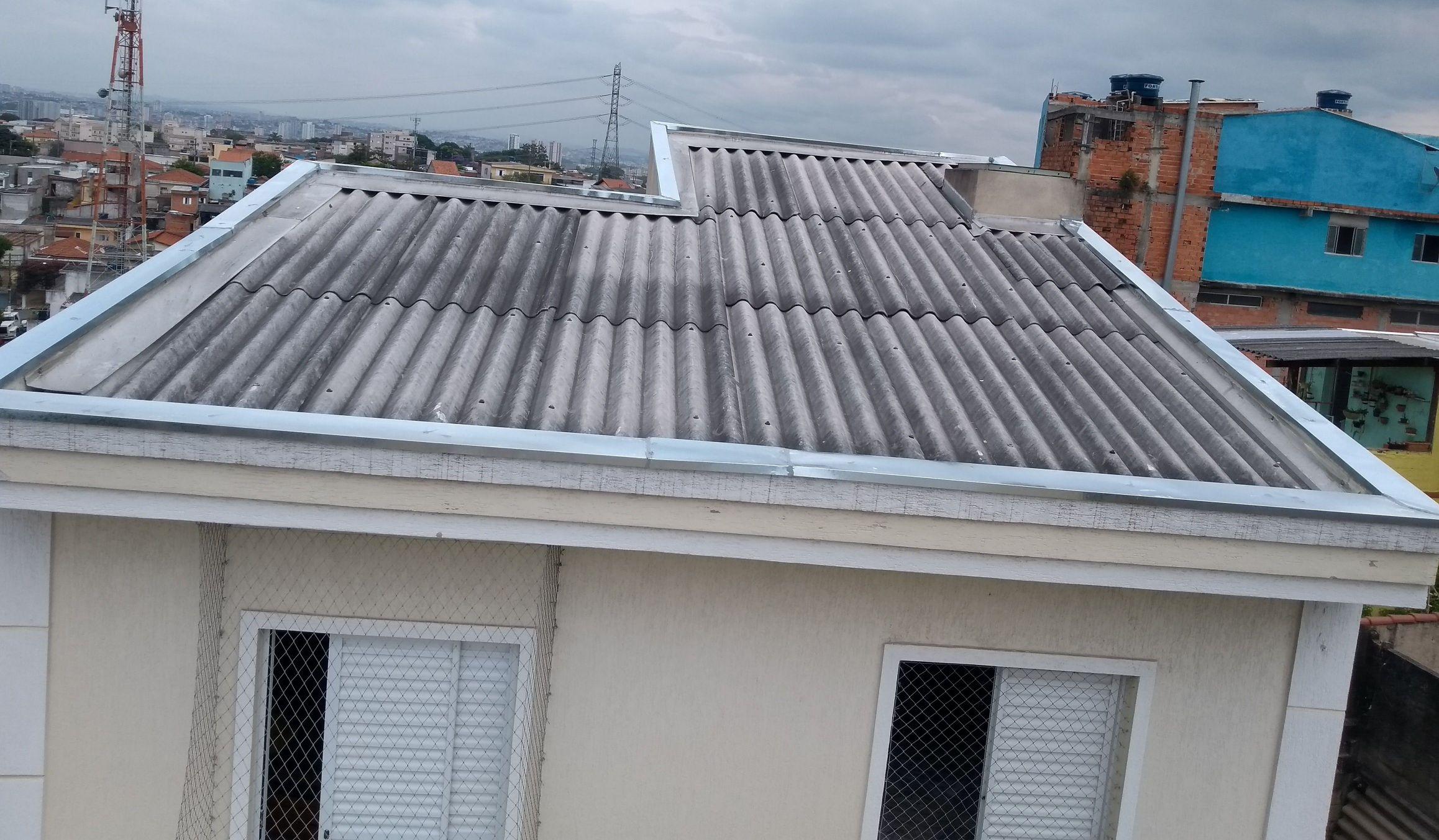 telhado terminado com sucesso