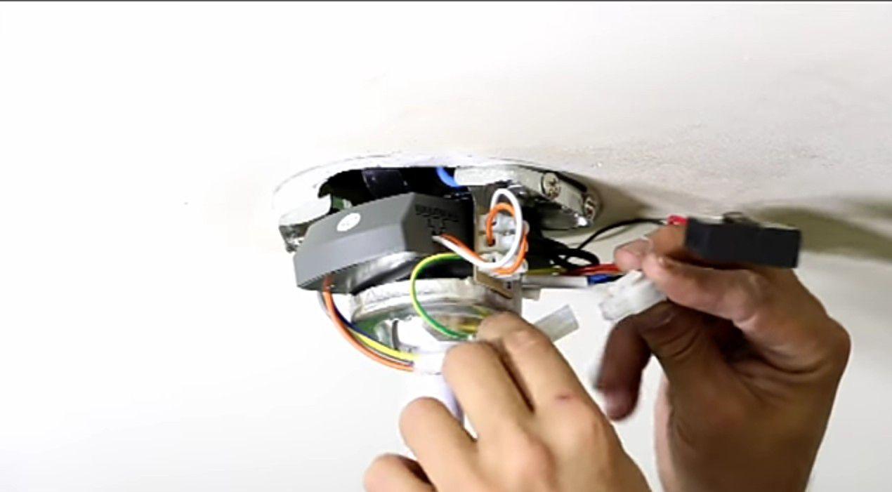instalação ventilador de teto com controle remoto!