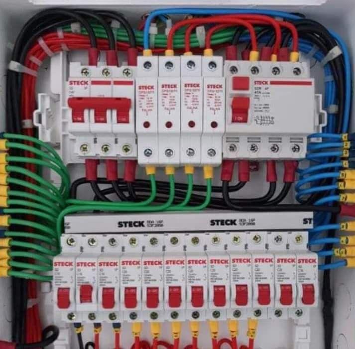 QDC(quadro de distribuição de circuitos )DPS IDR.