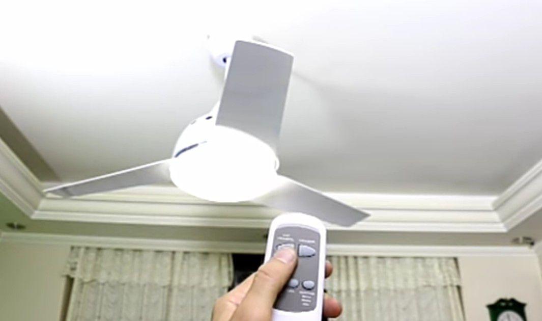 instalação  ventilador de teto com controle remoto