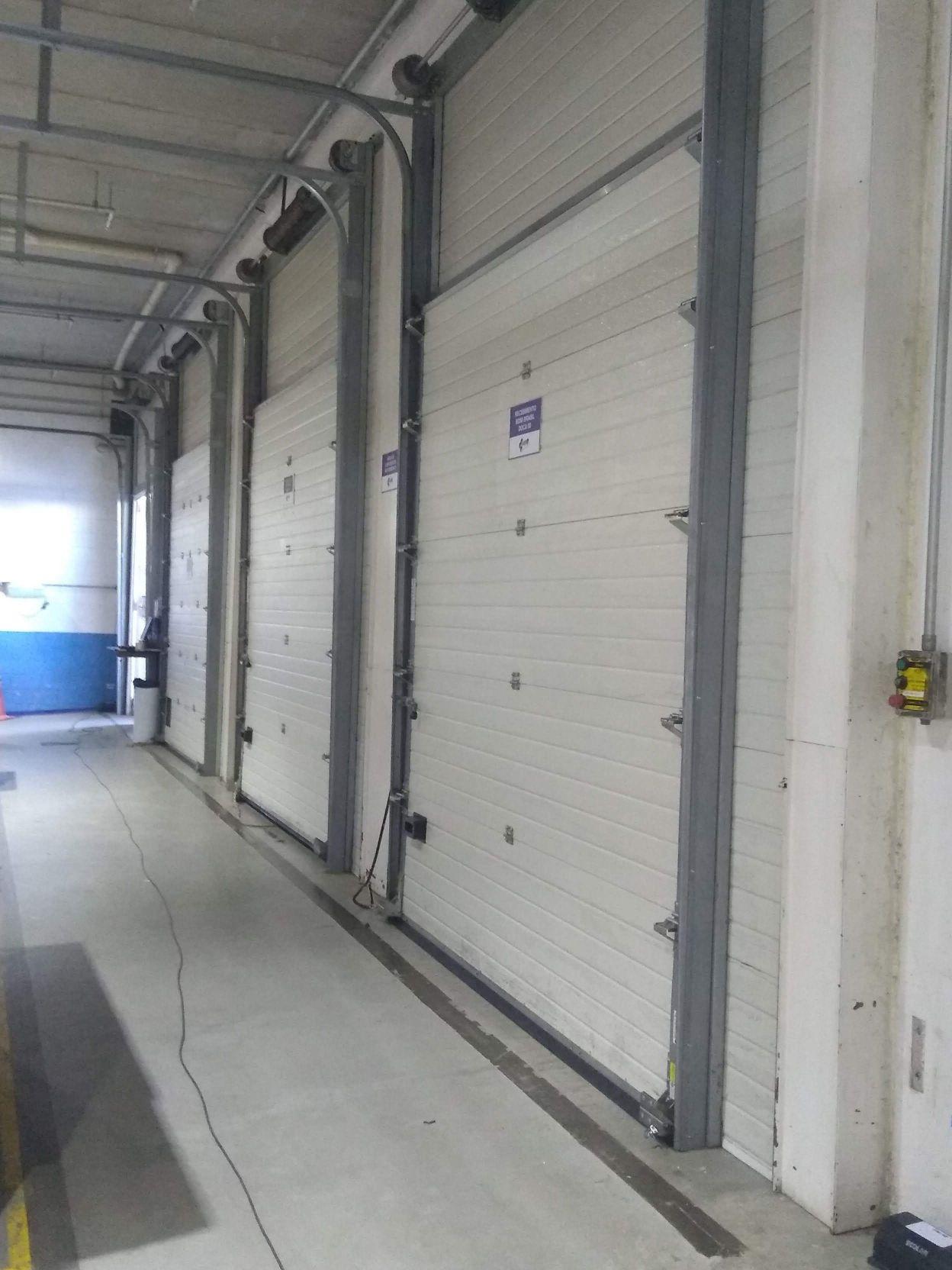 manutenção em porta seccional