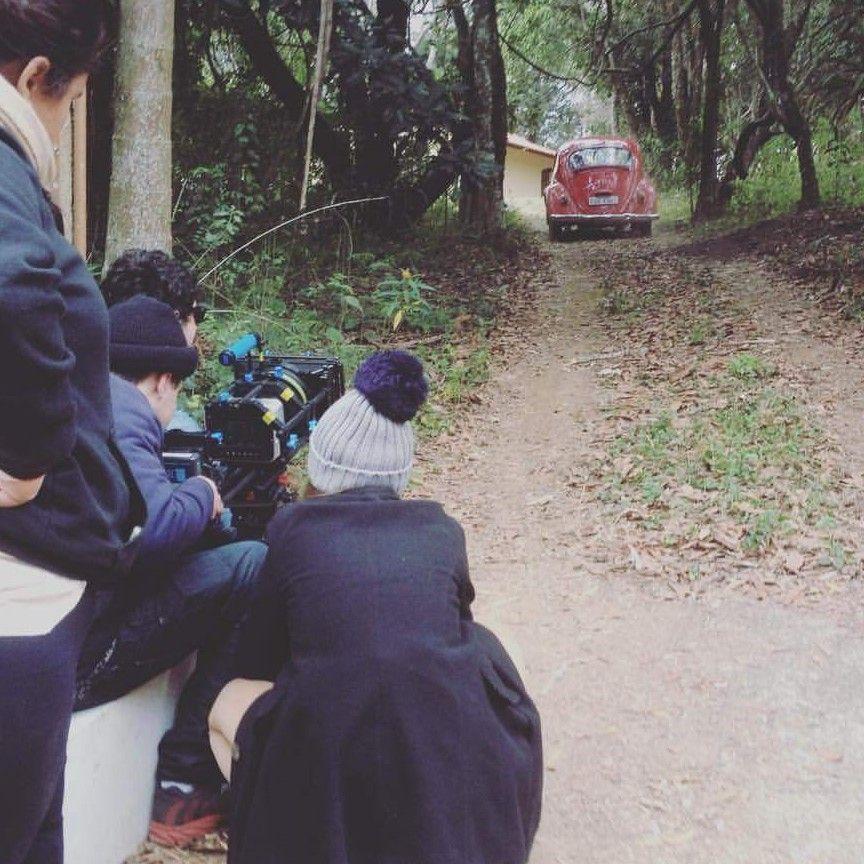 Produção do curta-metragem Fugere Urbem.