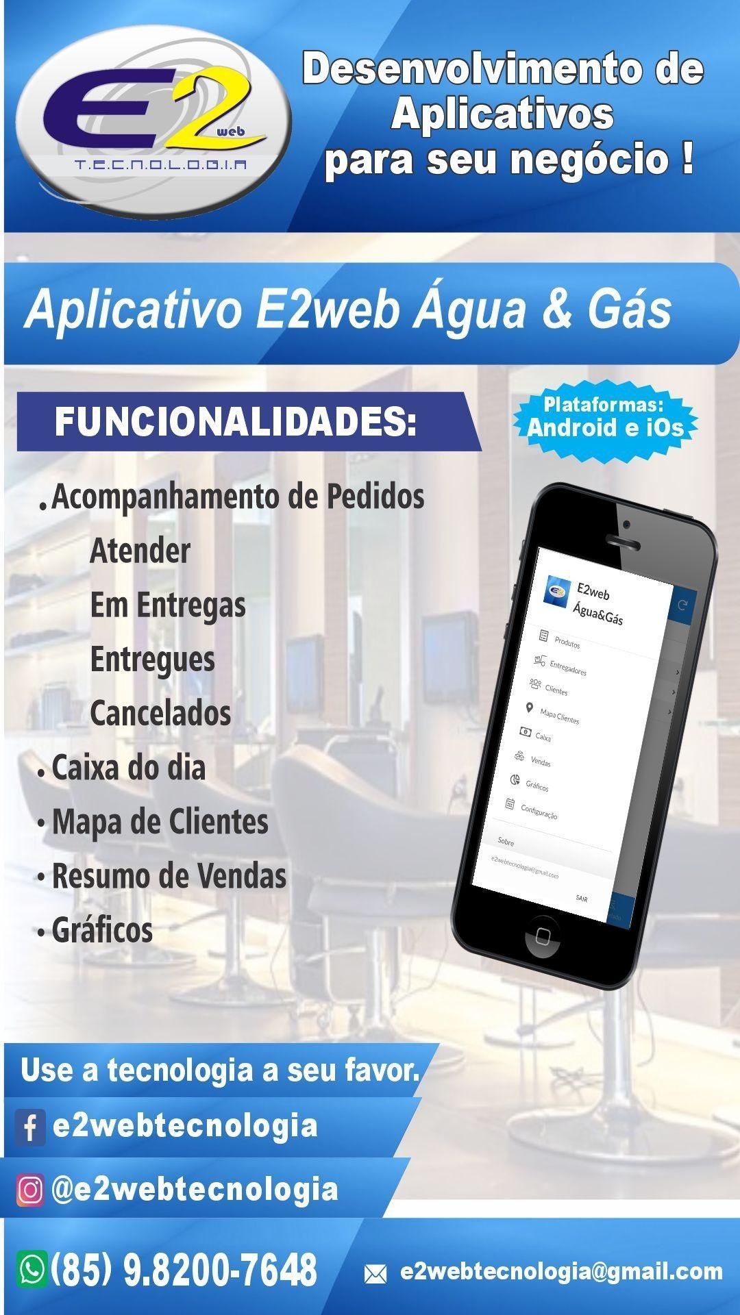Aplicativo para Revenda de Água e Gás.