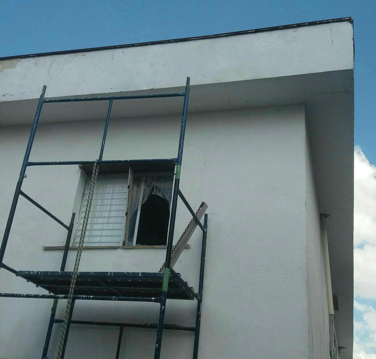restauração de casa antiga