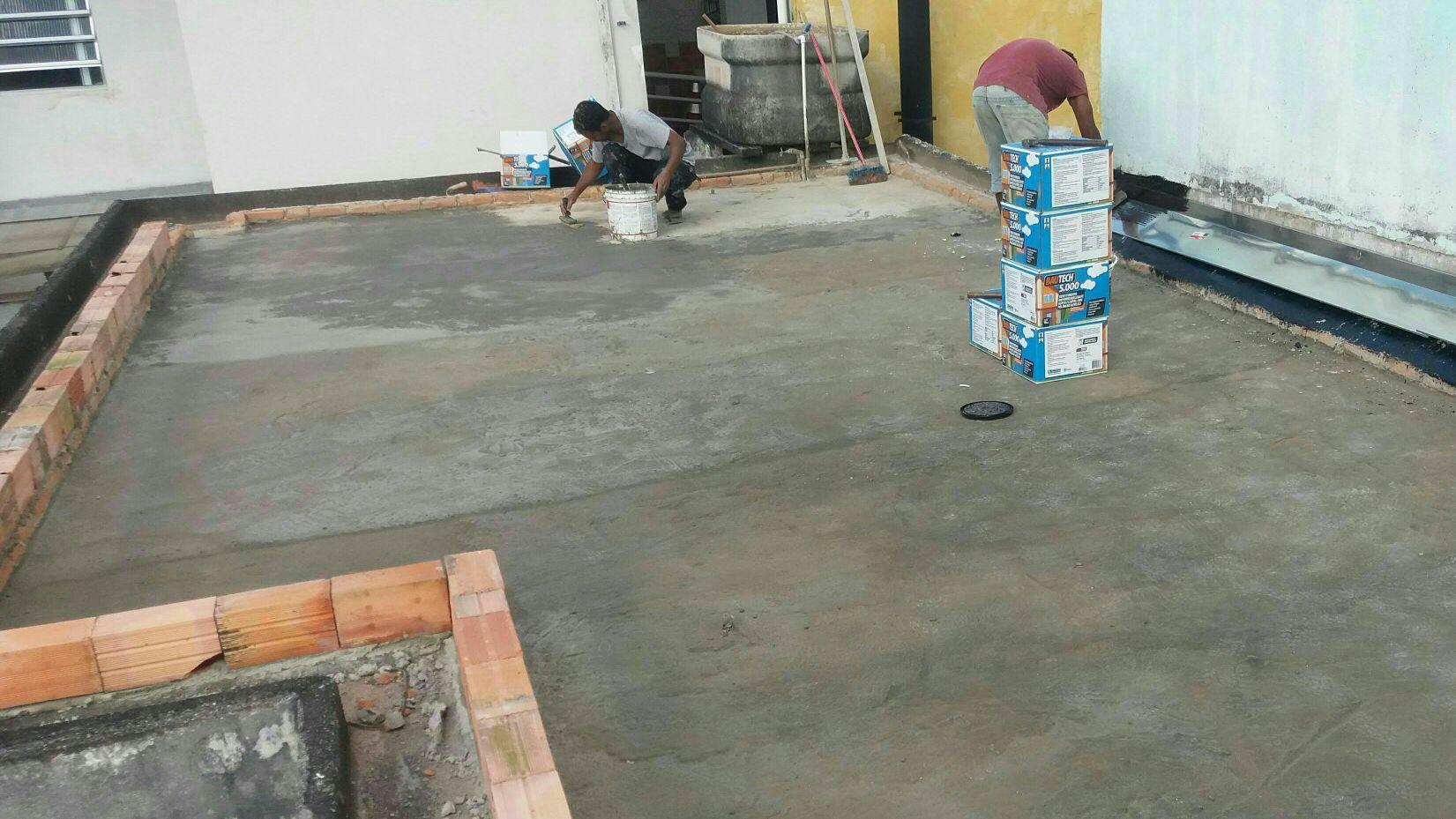 impermeabilização para contra piso