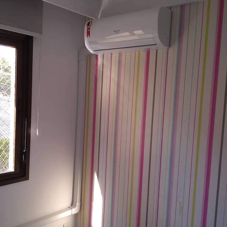 Instalação de equipamentos  de Ar condicionados