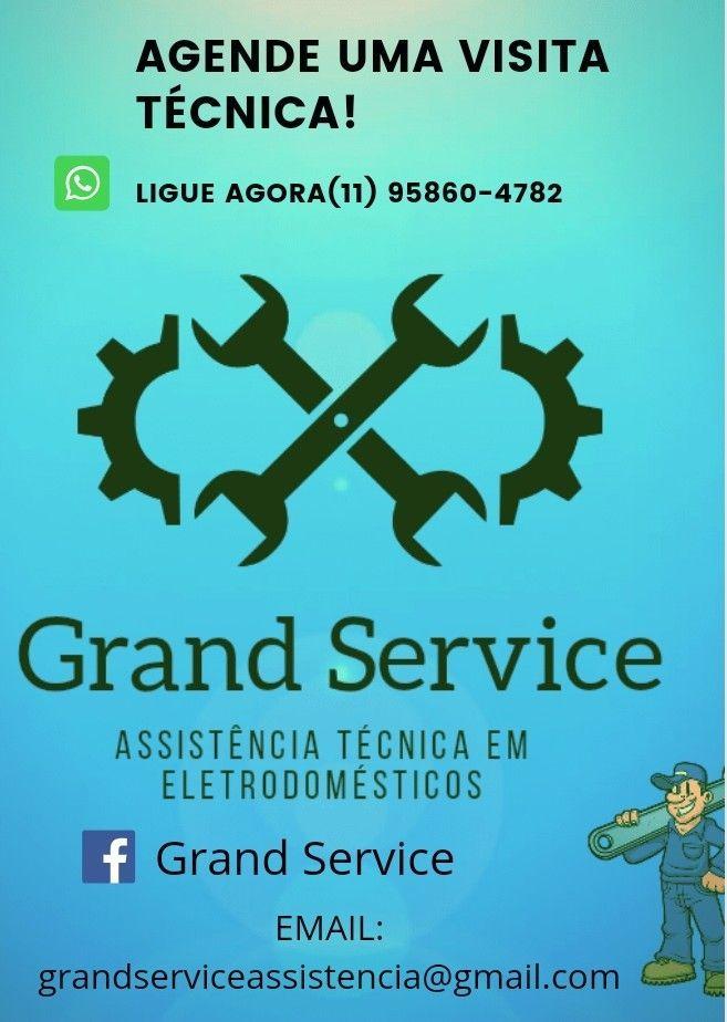 Assistência técnica em eletrodomésticos.