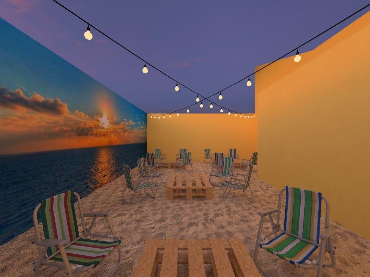Lounge Pé na Areia