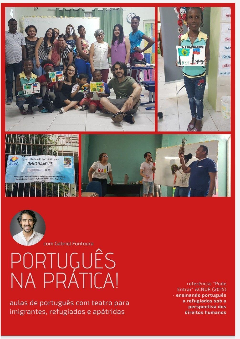 professor de português e espanhol na AVESOL