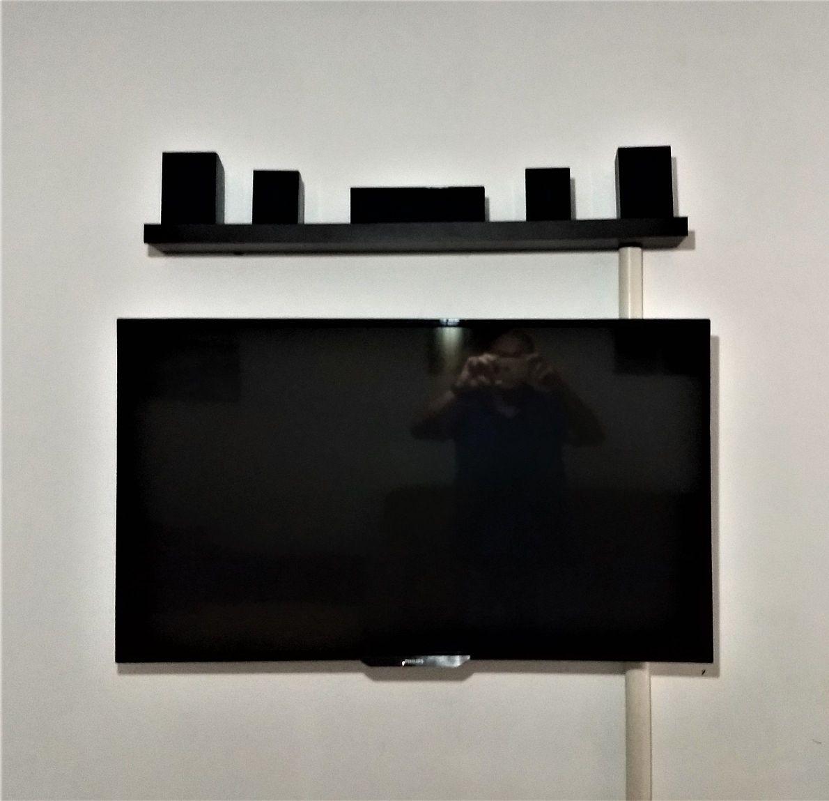 instalação de suporte para Tv e Home Theater