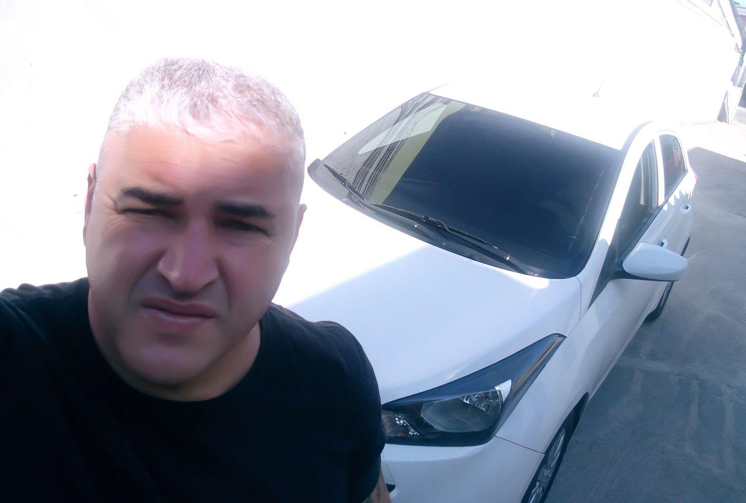 Com veículo do cliente em Suzano.
