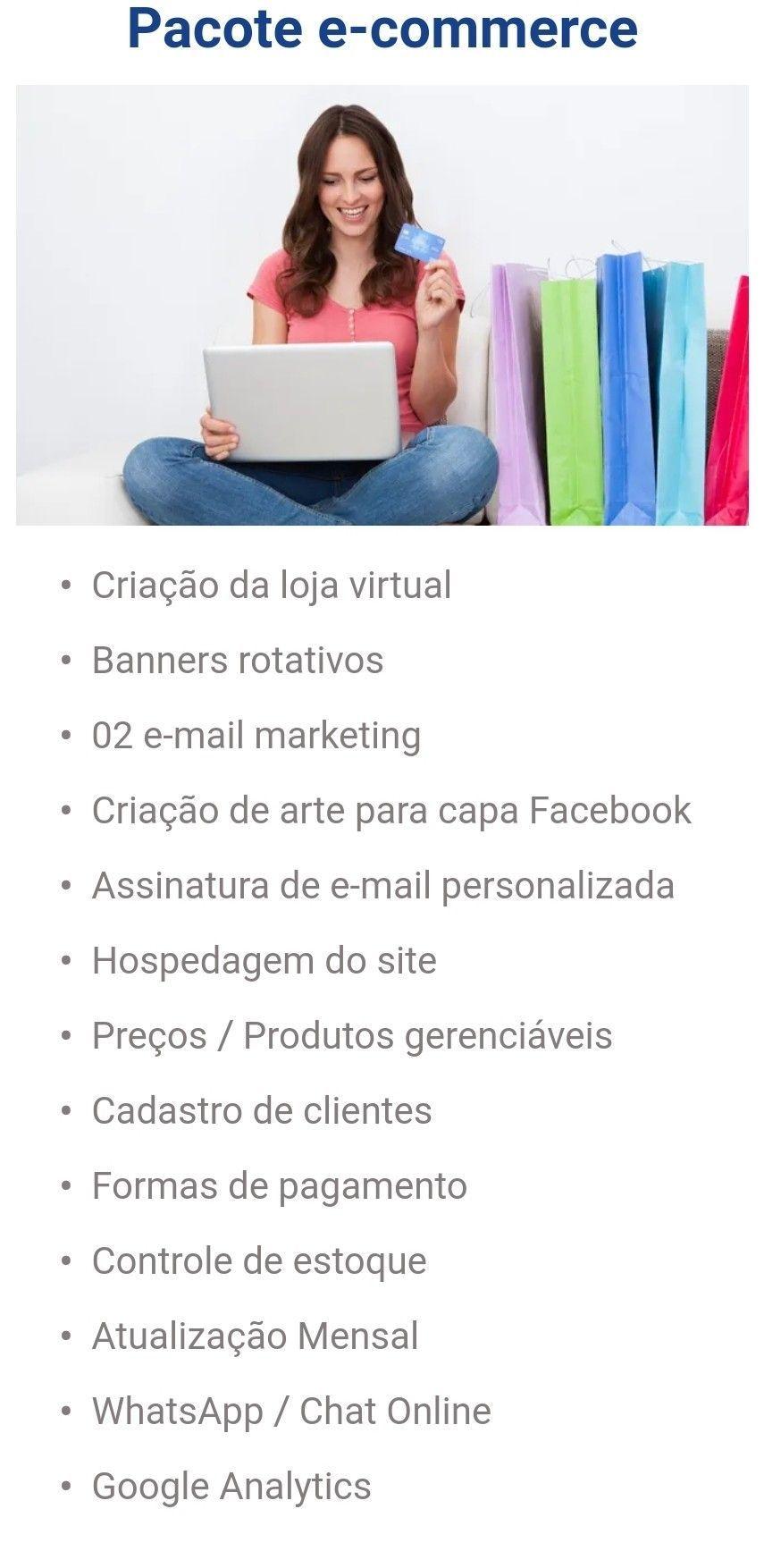 Pacote e-commerce