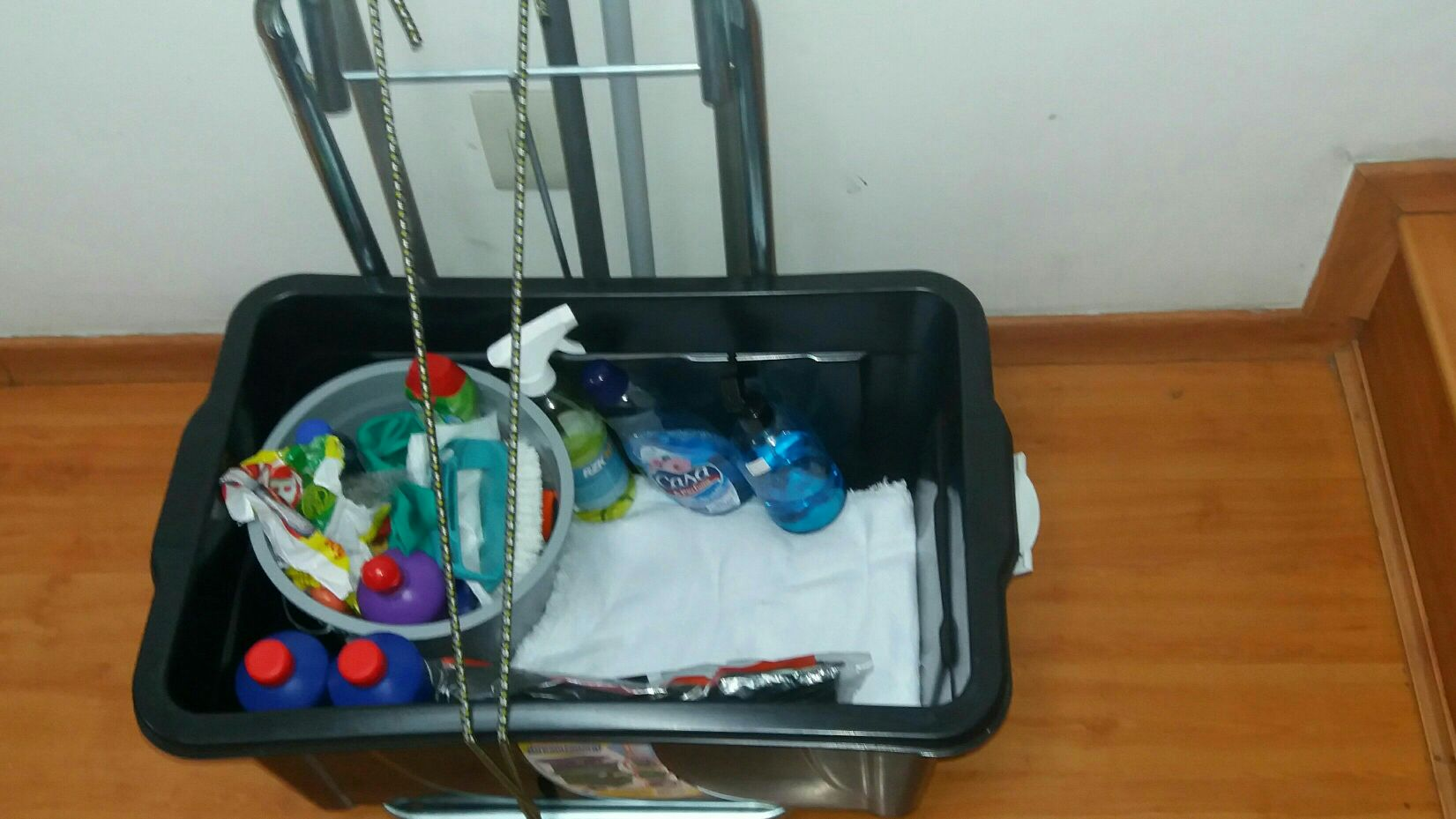 kit para deixar a sua residência limpa