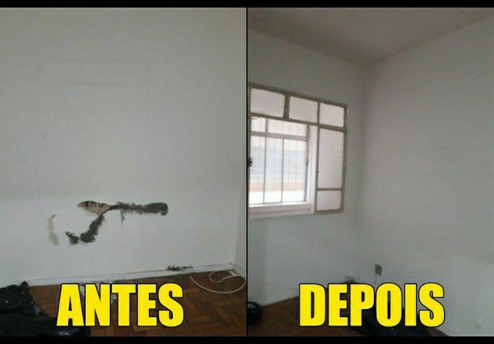 parede com infiltração