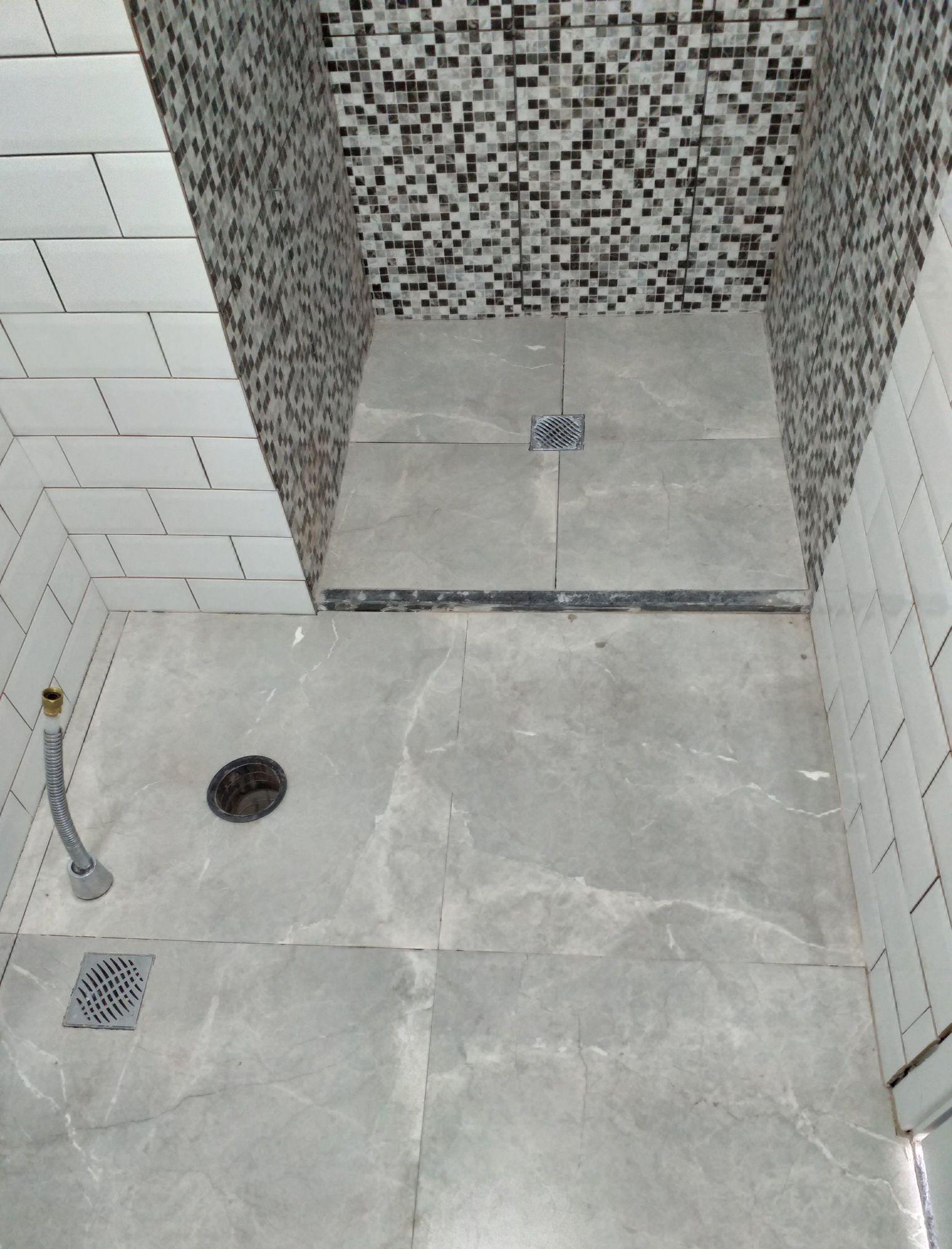 banheiro diferente e bem acabado