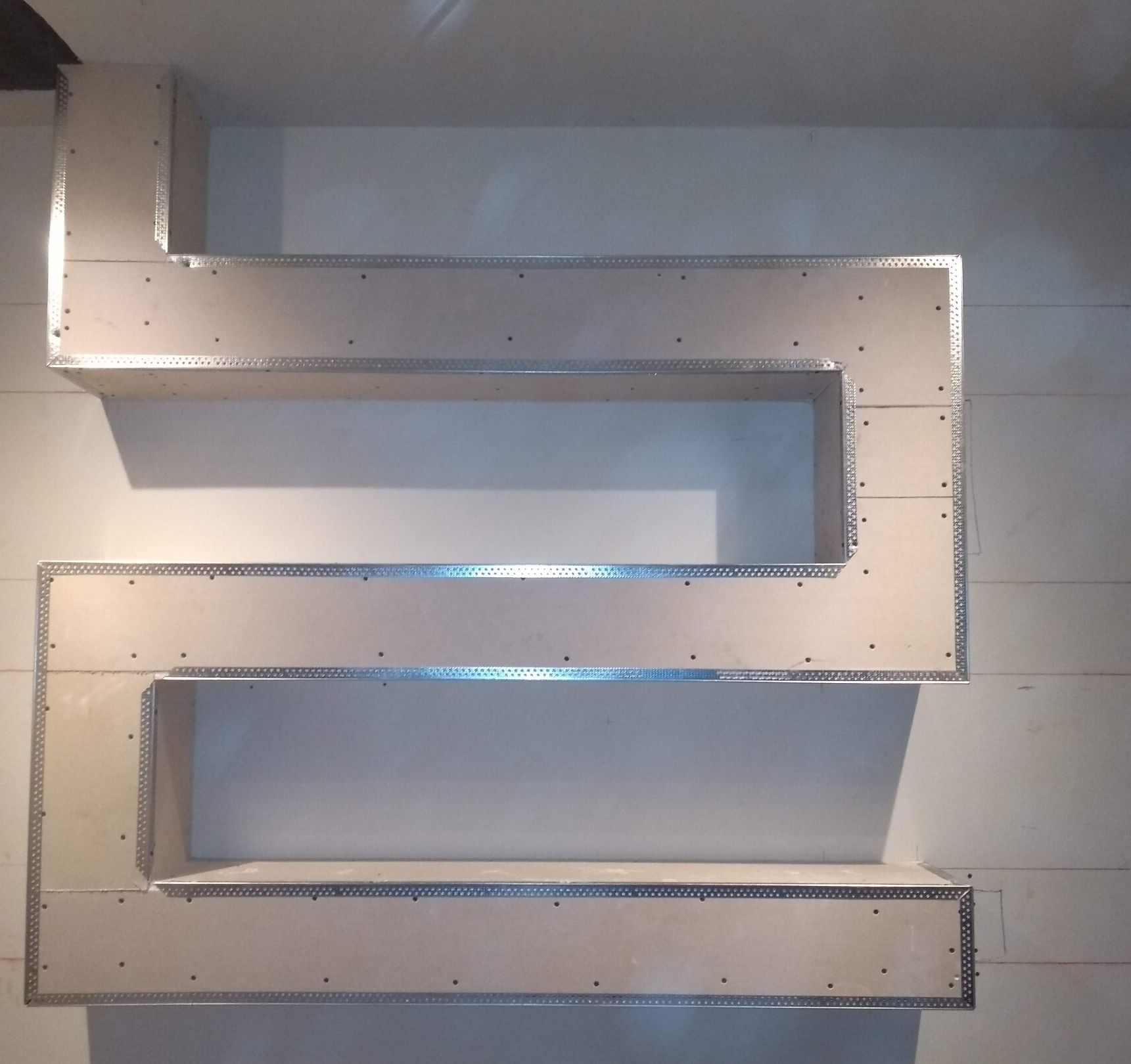 detalhes em drywall