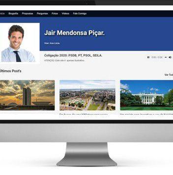 site para campanha eleitoral
