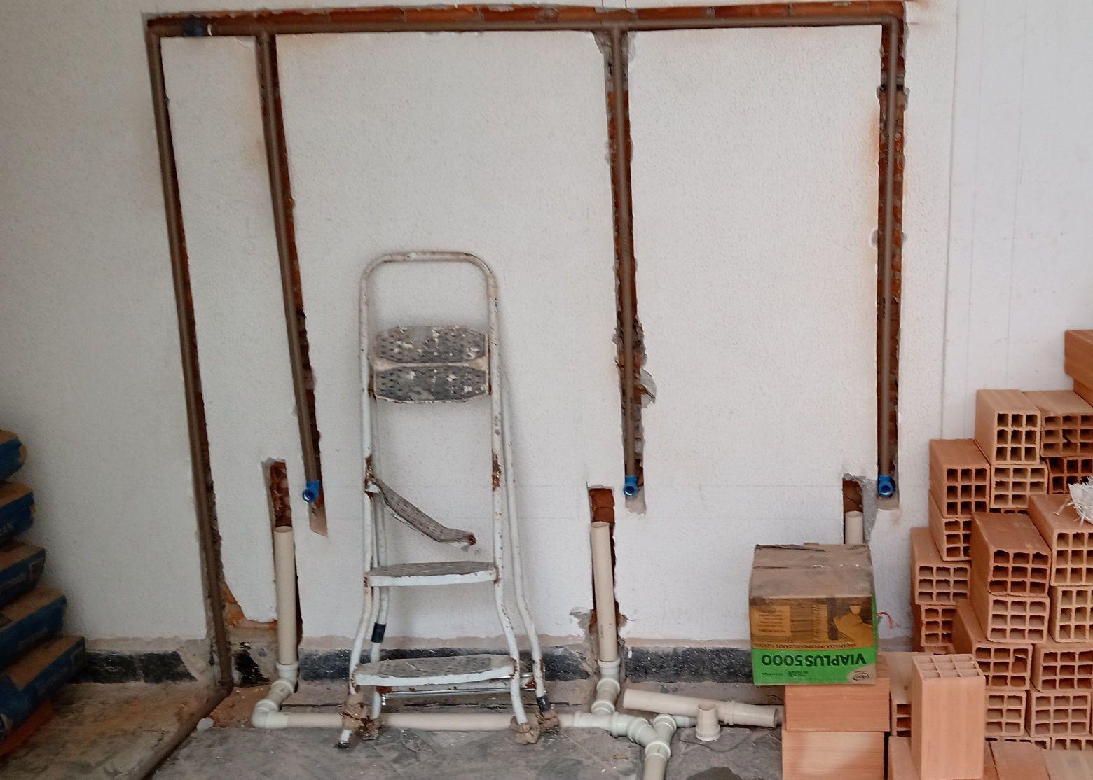 lavaderia , projeto de hidráulica