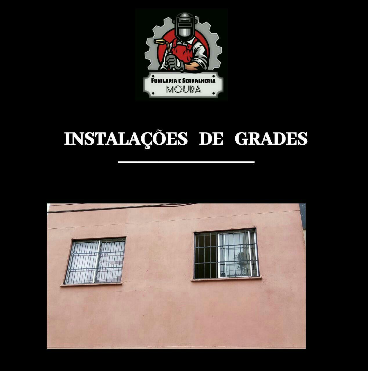Grades em janelas