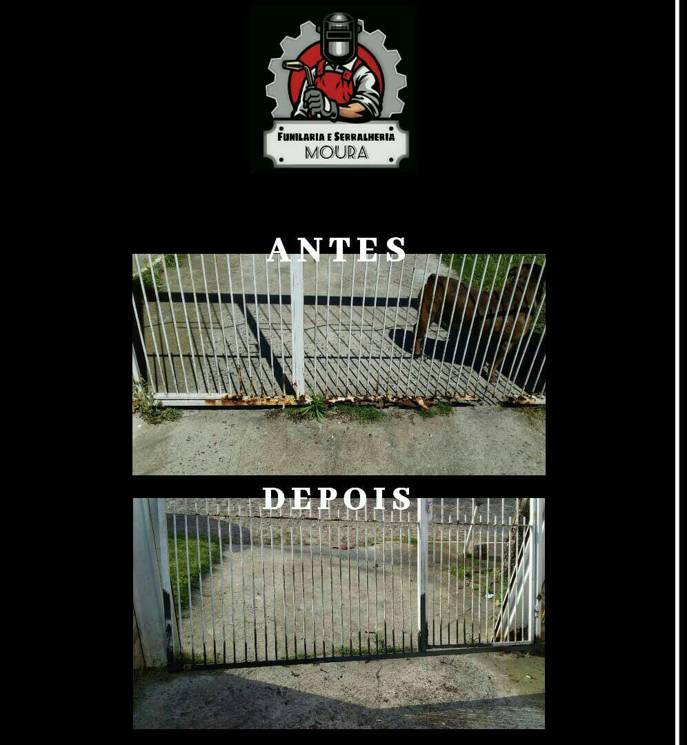 Reformas em portões