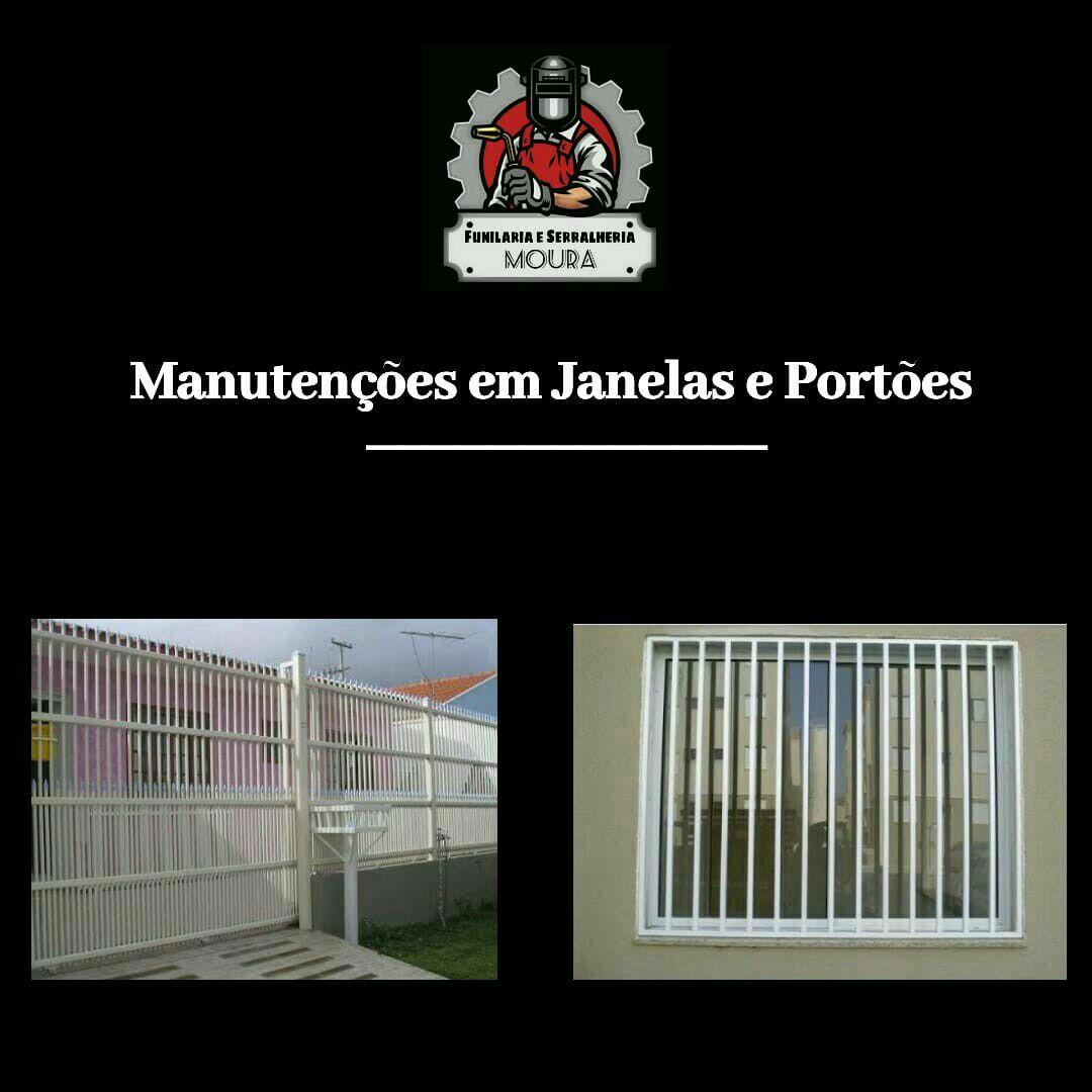 grades em janelas e portões