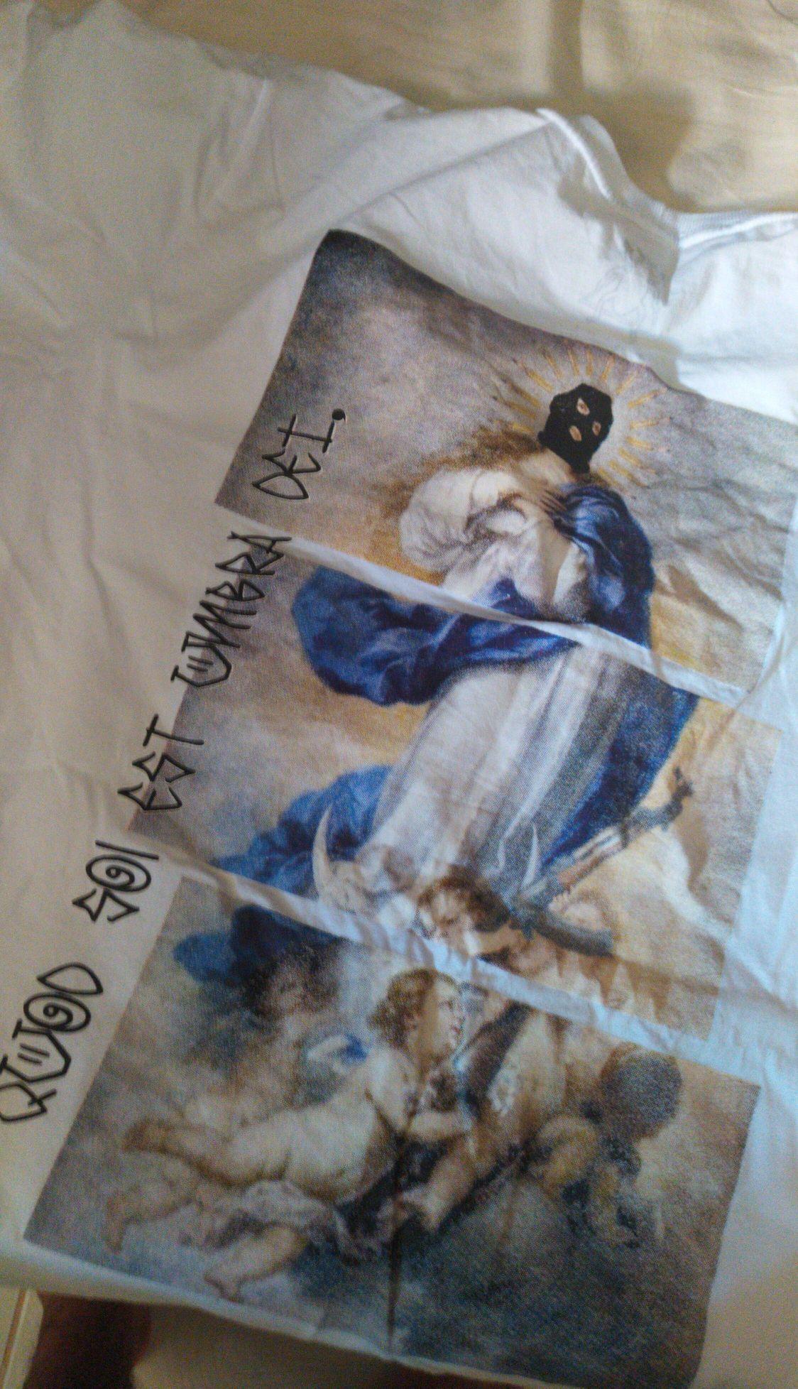 Estampa camiseta (traça Pano)