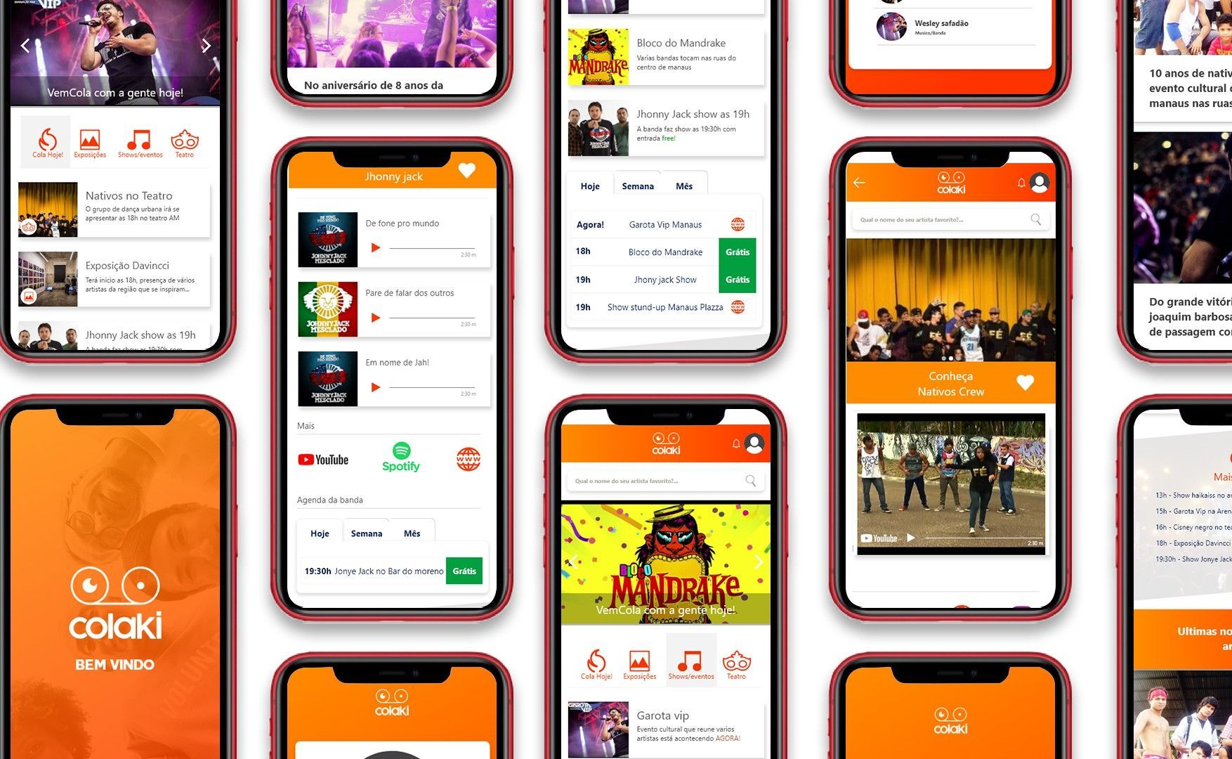 Ux e Ui colaki app