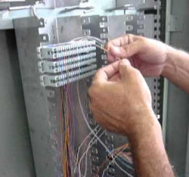 manutenção de linha