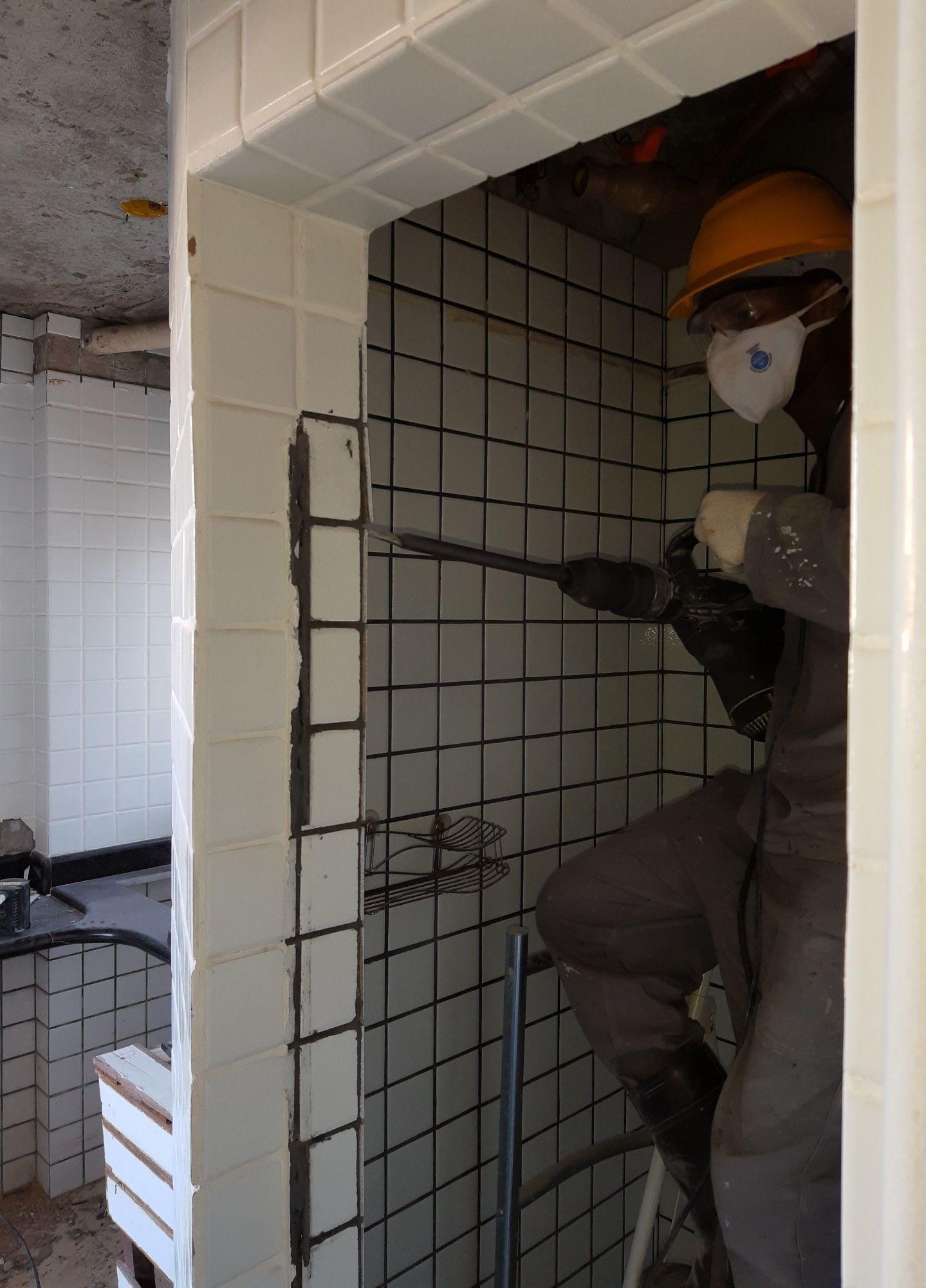 removendo parede