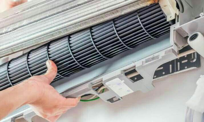 manutenção corretiva  em ar condicionado  split