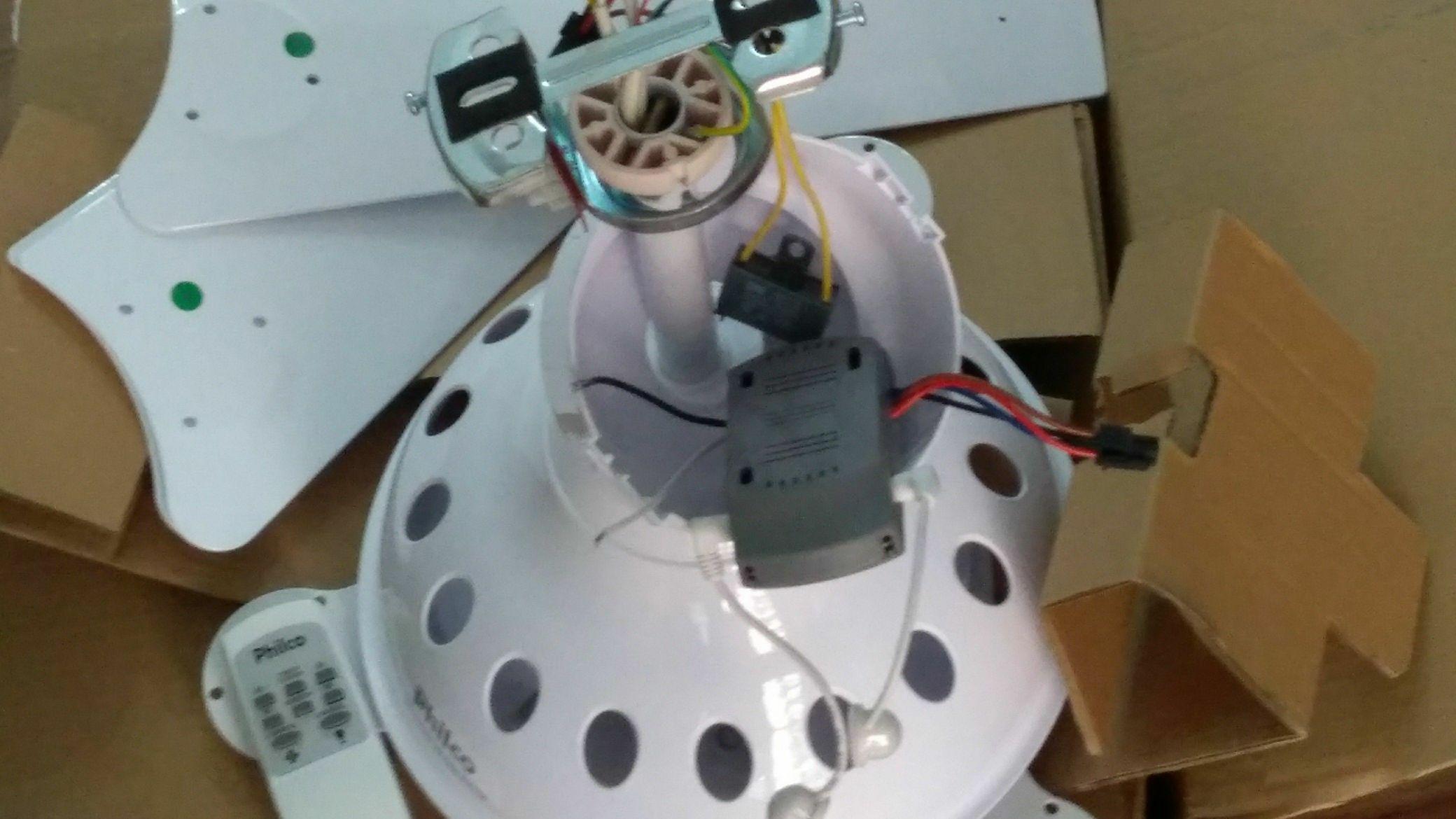 montagem ventilador