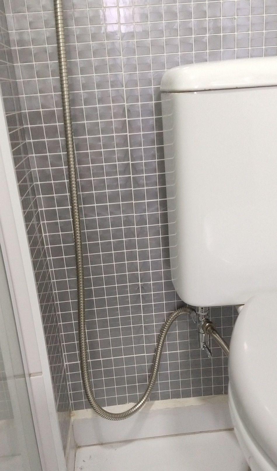 Instalação ducha higiênica.