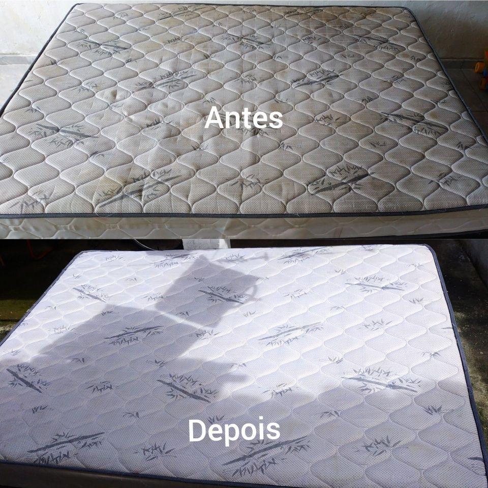 Higienização de colchões