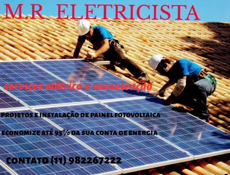 homologação e instalação de painel fotovoltaicas