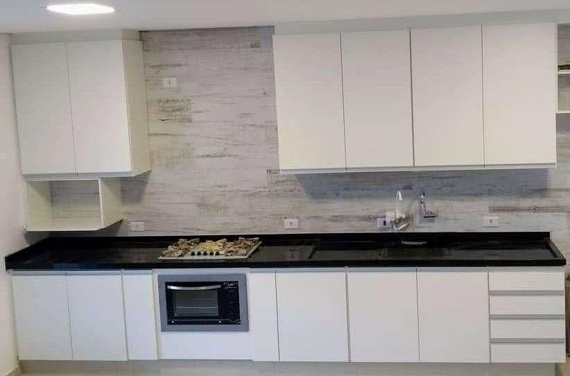 Cozinha em MDF branco