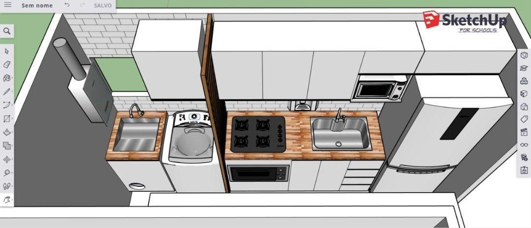 projeto de cozinha.