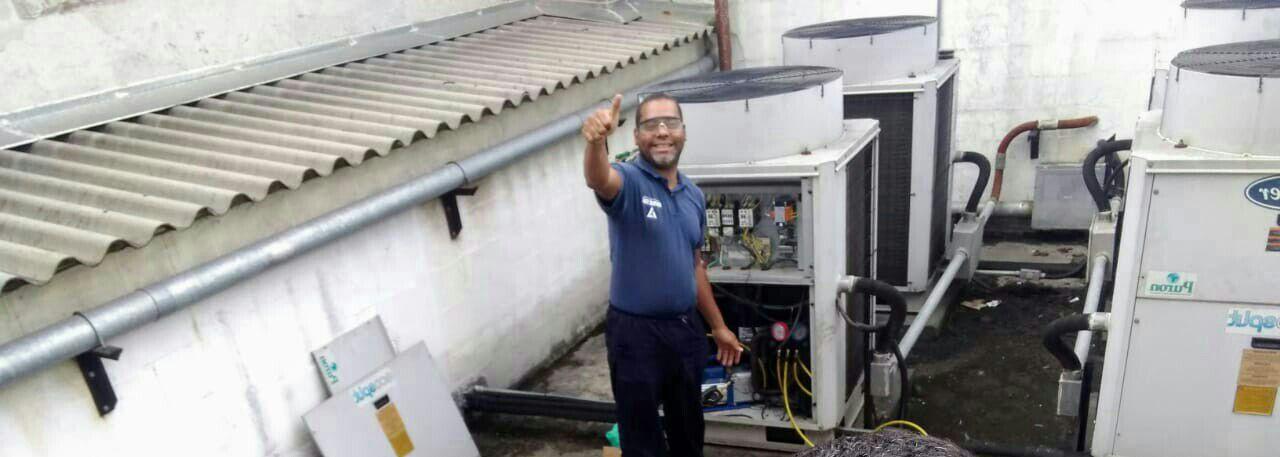 Troca de Compressor