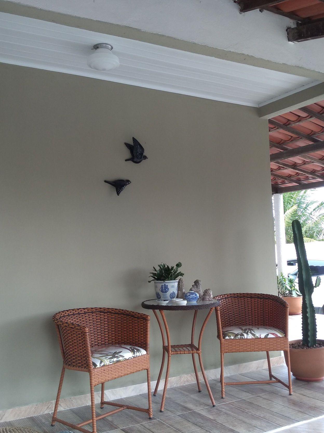 pintura parede área externa