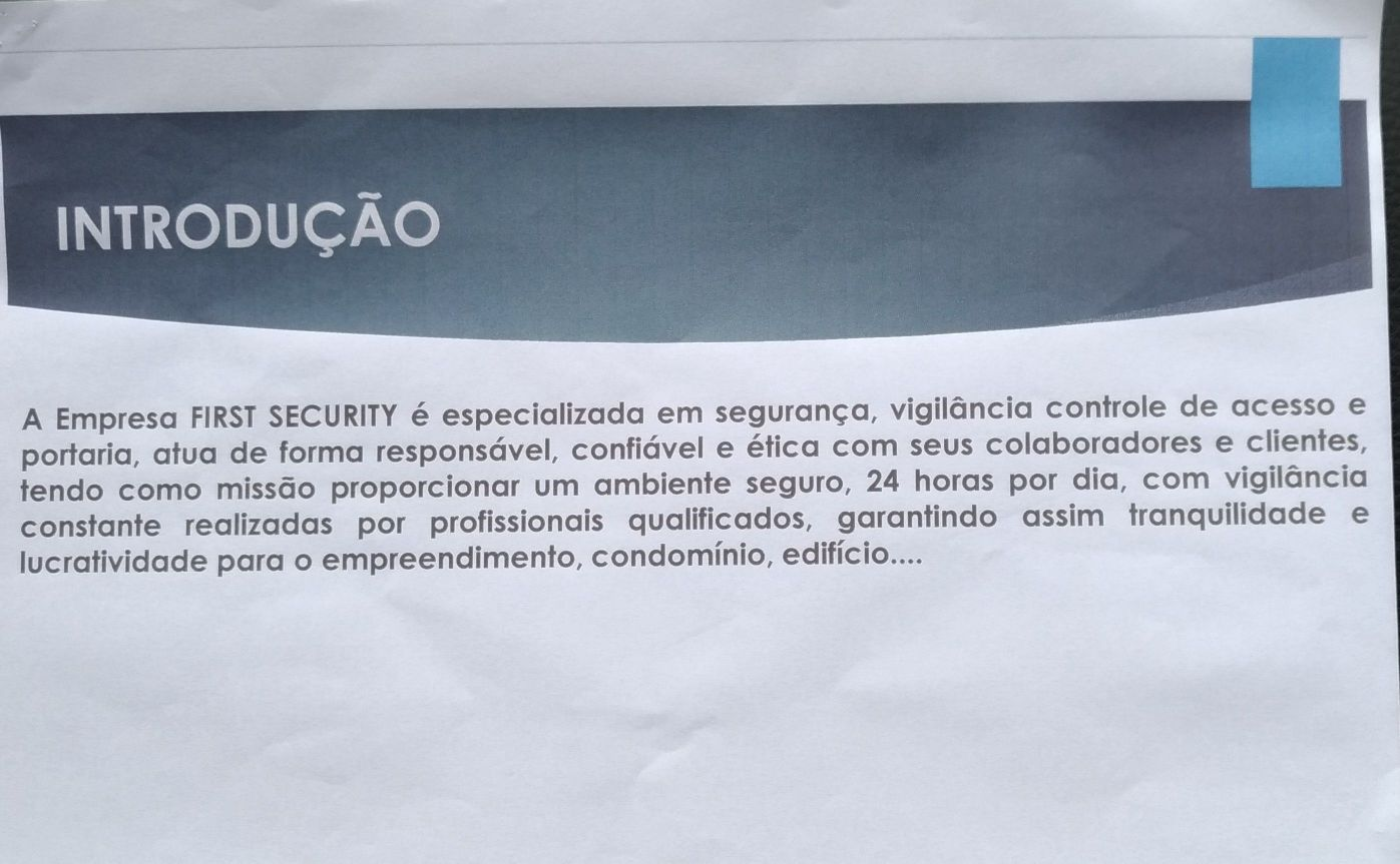 Fale com consultor da First Security & Services