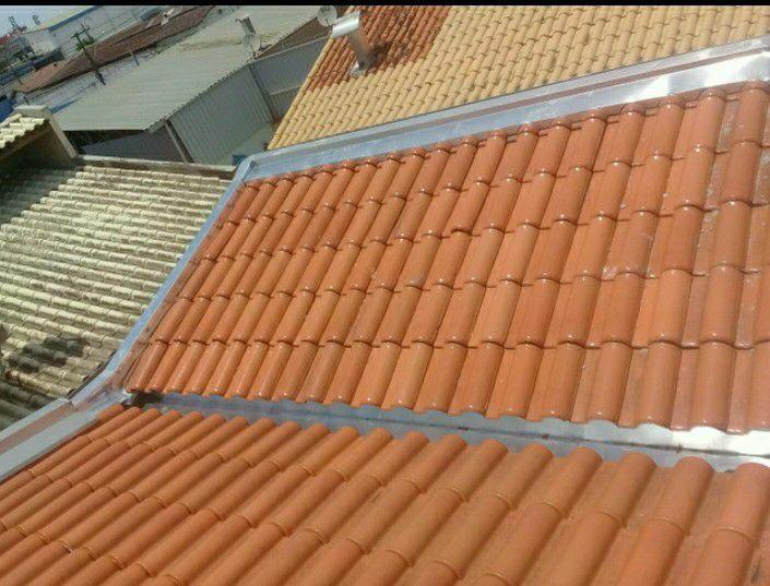 limpeza de calhas e consertos de telhados