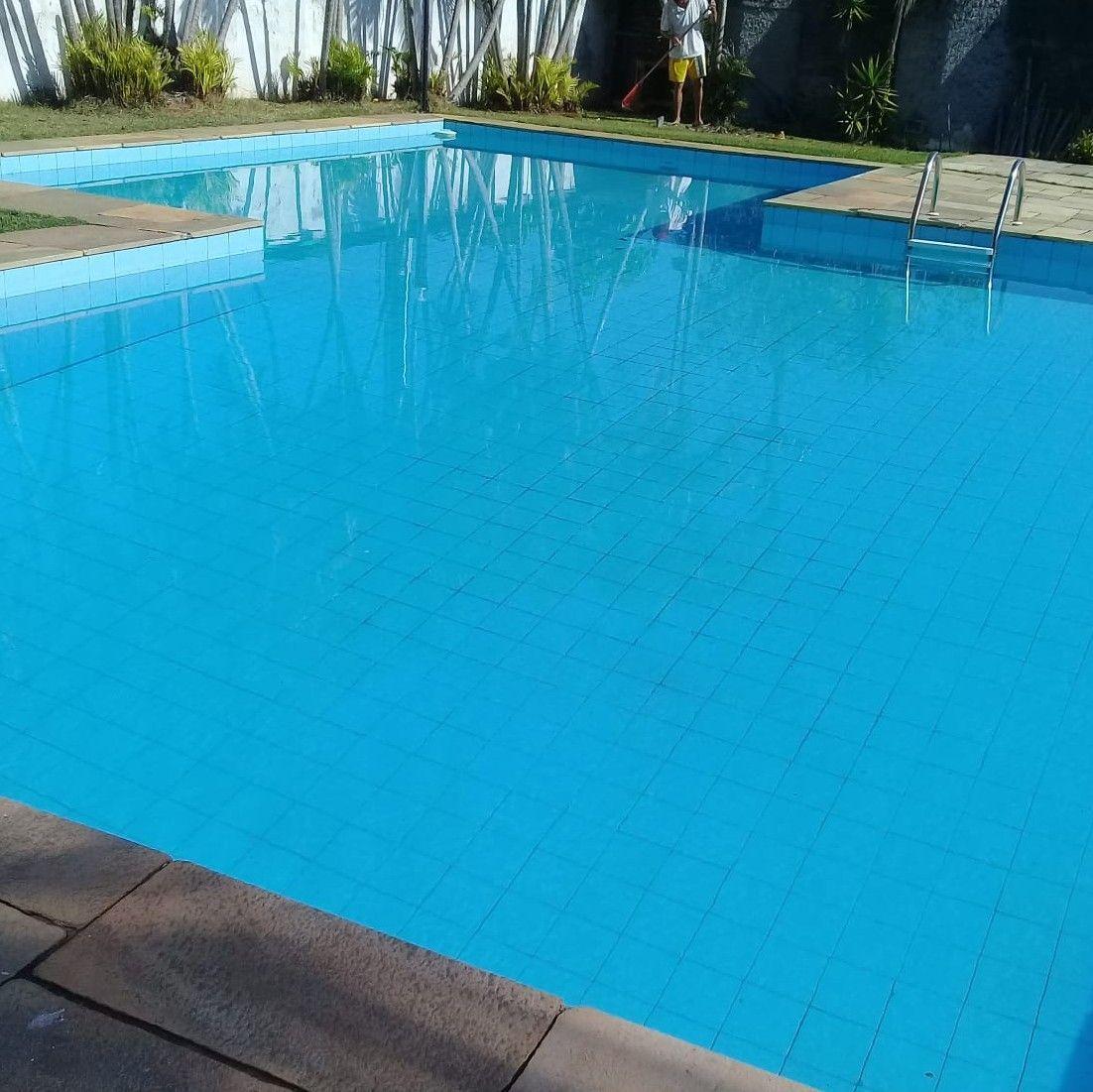 piscina, tratamento da água.