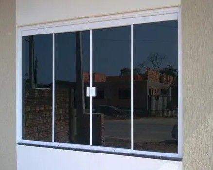 janela fumê blindex