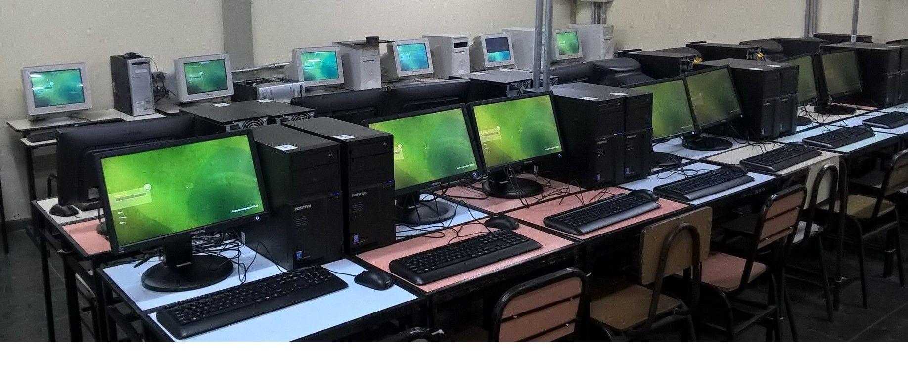 Rede Linux escola pública