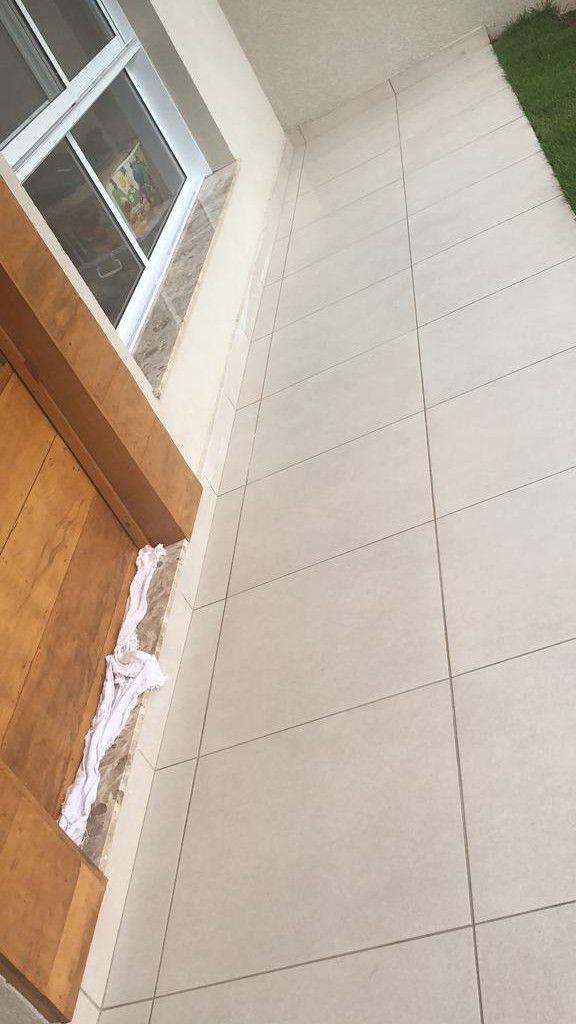 limpeza de piso externo